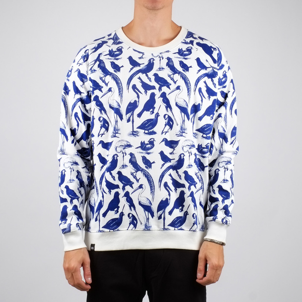 Malmoe Sweatshirt Blue Birds