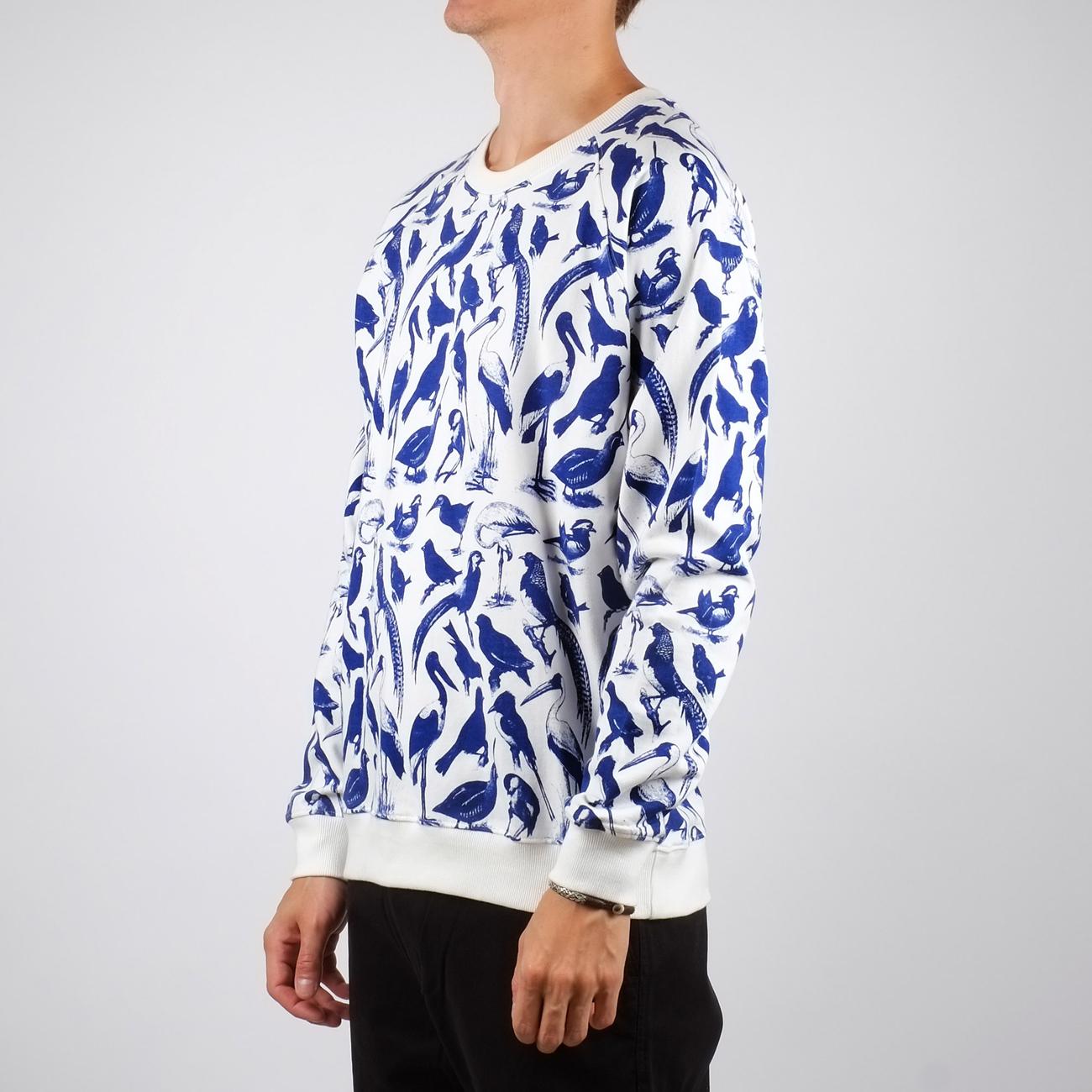 Sweatshirt Malmoe Blue Birds