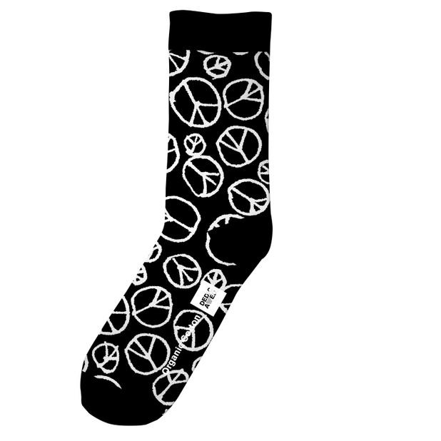 Socks Sigtuna Peace Pattern