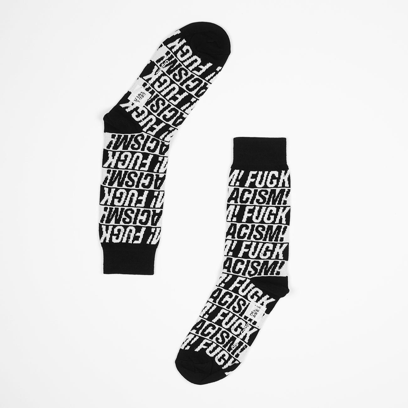 Socks Sigtuna Fuck Racism Black