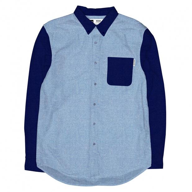 Shirt Contrast Chambray