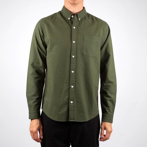Shirt Oxford Green