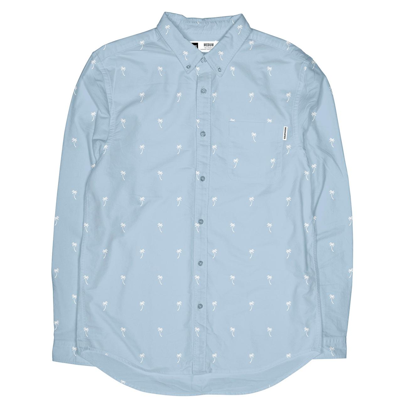 Shirt Varberg Poplin Ditsy Palms