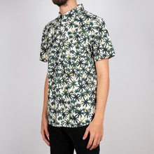 Shirt Short Sleeve Sandefjord Poplin Beach Palms