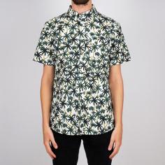 Shirt Short Sleeve Sandefjord Poplin Beach Palms