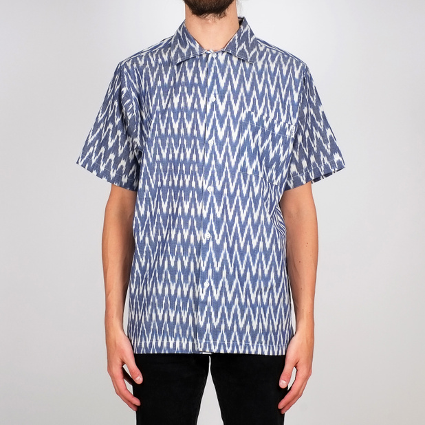 Shirt Short Sleeve Marstrand Handloom Zig Zag