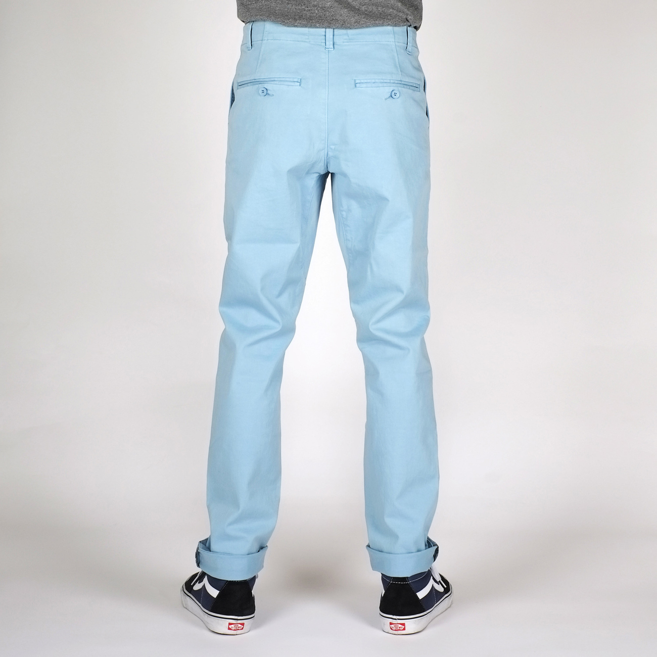 Chino Pants Sundsvall Light Blue