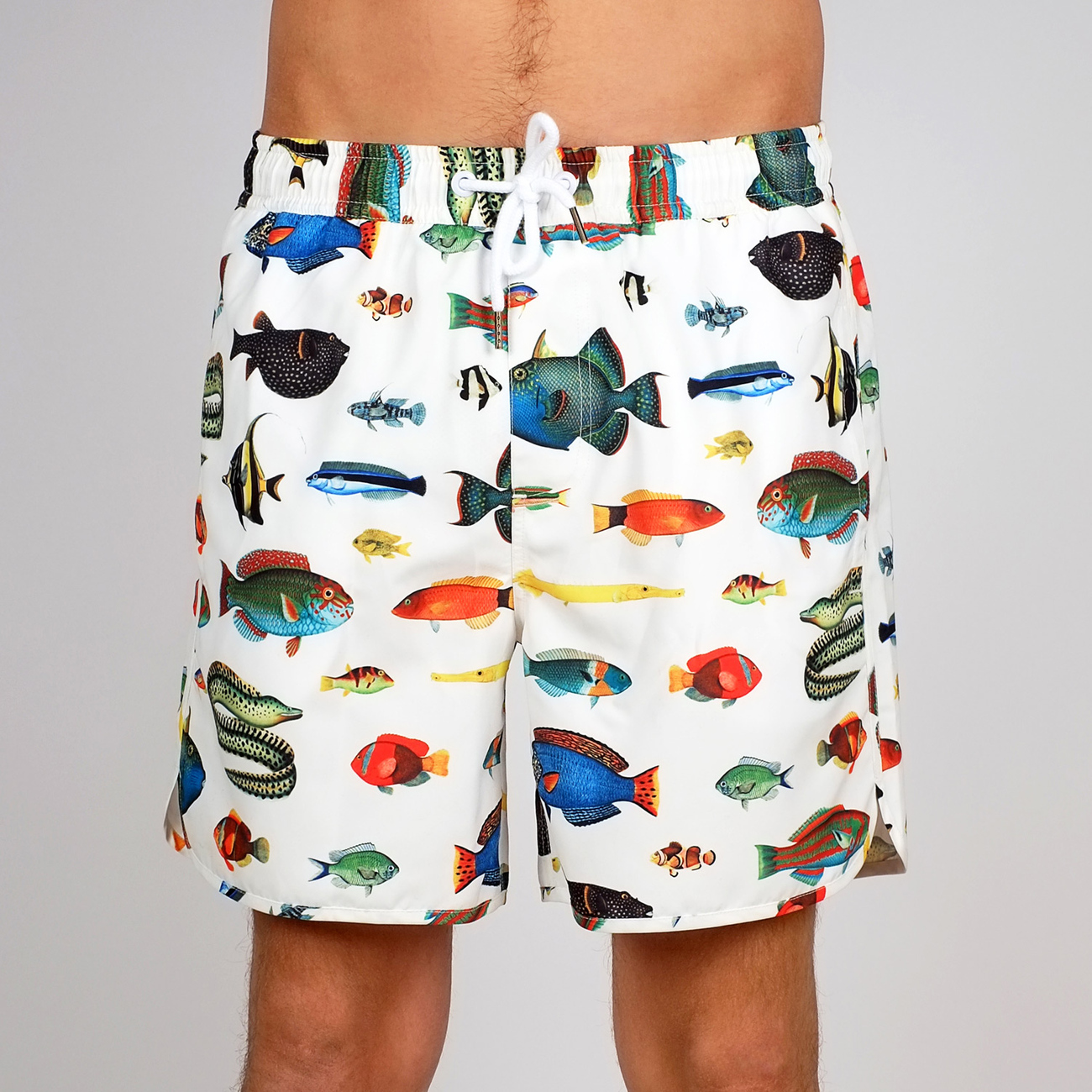 Swim Shorts Tropical Fish