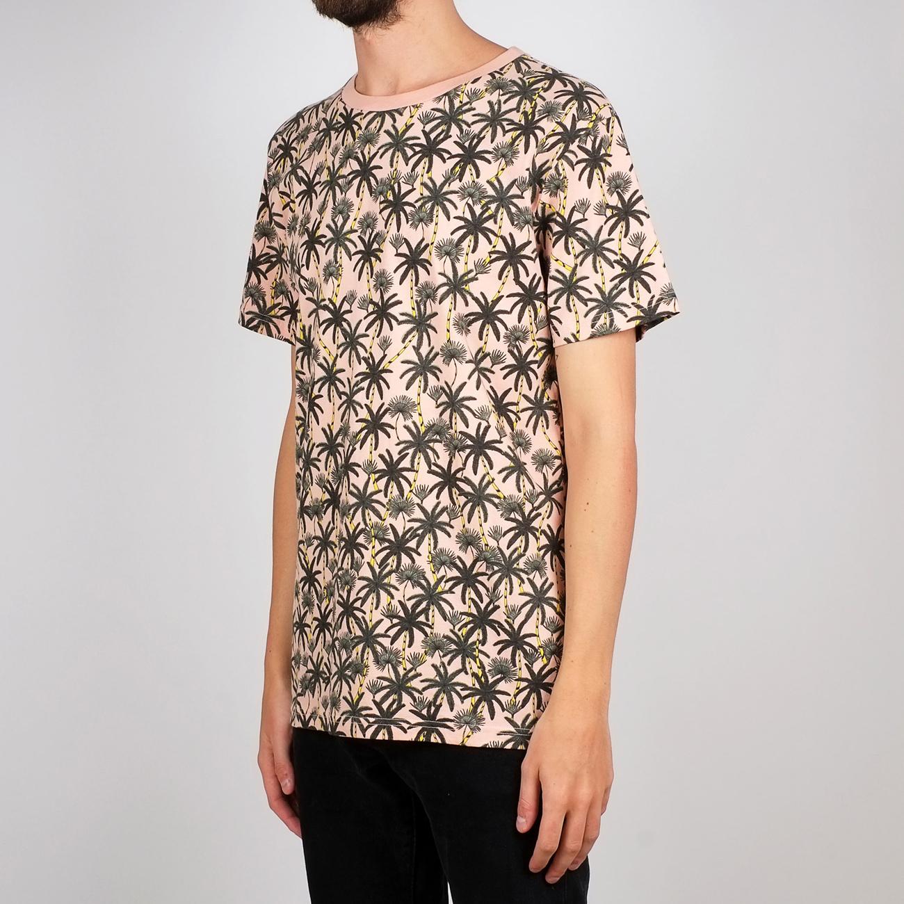 T-shirt Stockholm Beach Palms Mellow Pink