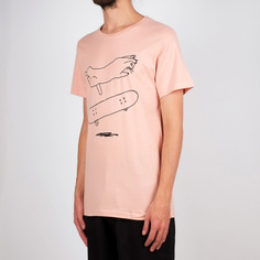 T-shirt Stockholm Cat Flip Mellow Pink