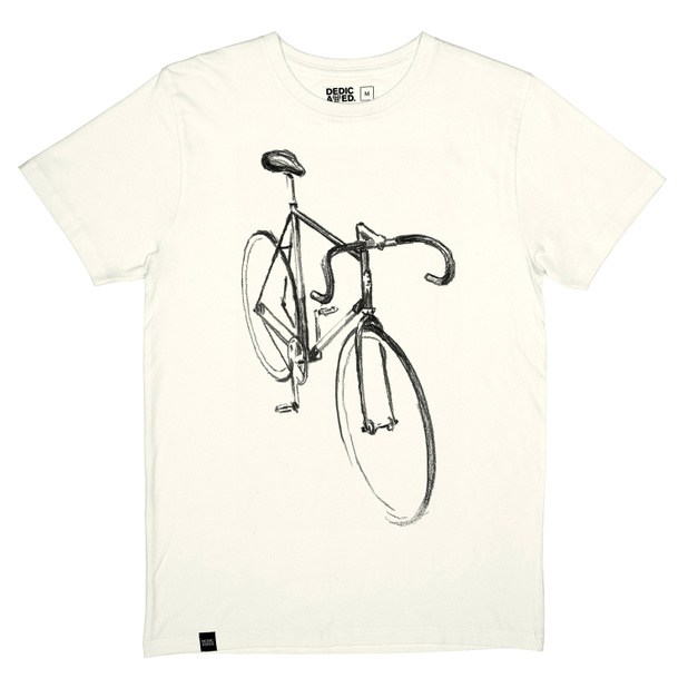 T-shirt Stockholm Drawn Bike Off-White