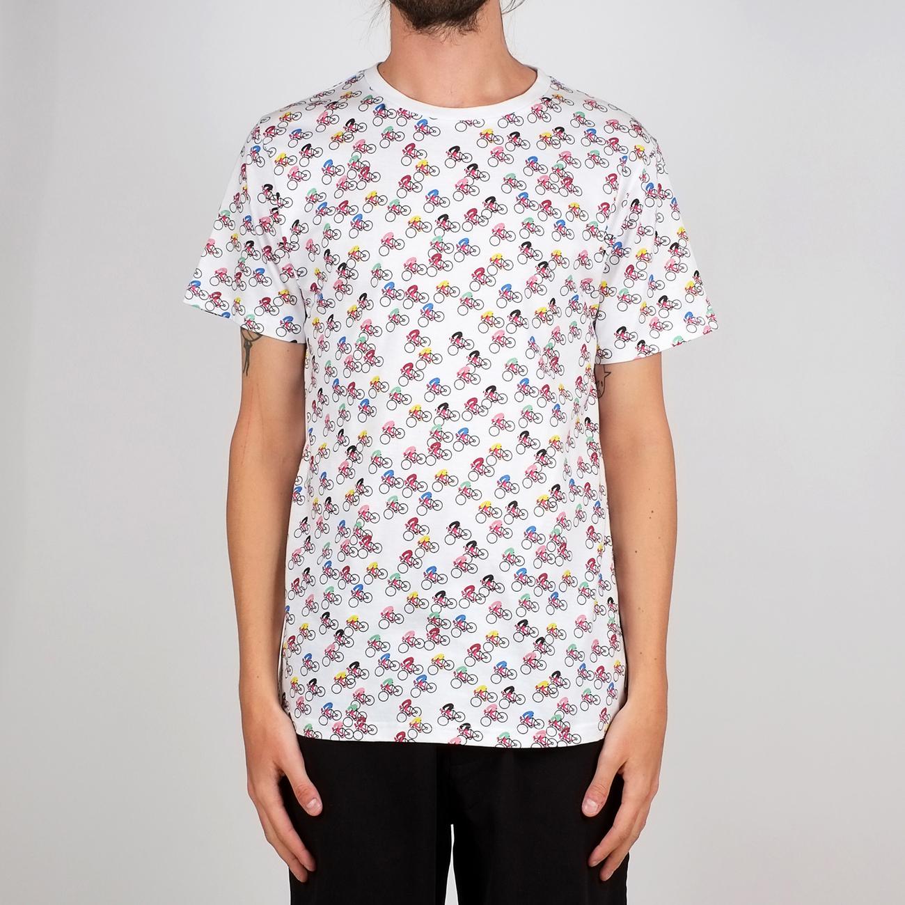 Dedicated t shirt stockholm bike race for Marathon t shirt printing
