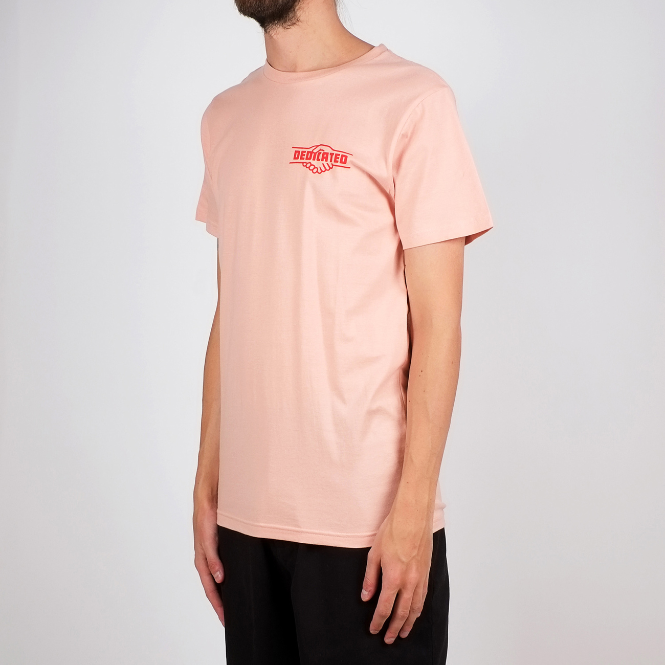 T-shirt Stockholm Good Hands Mellow Pink