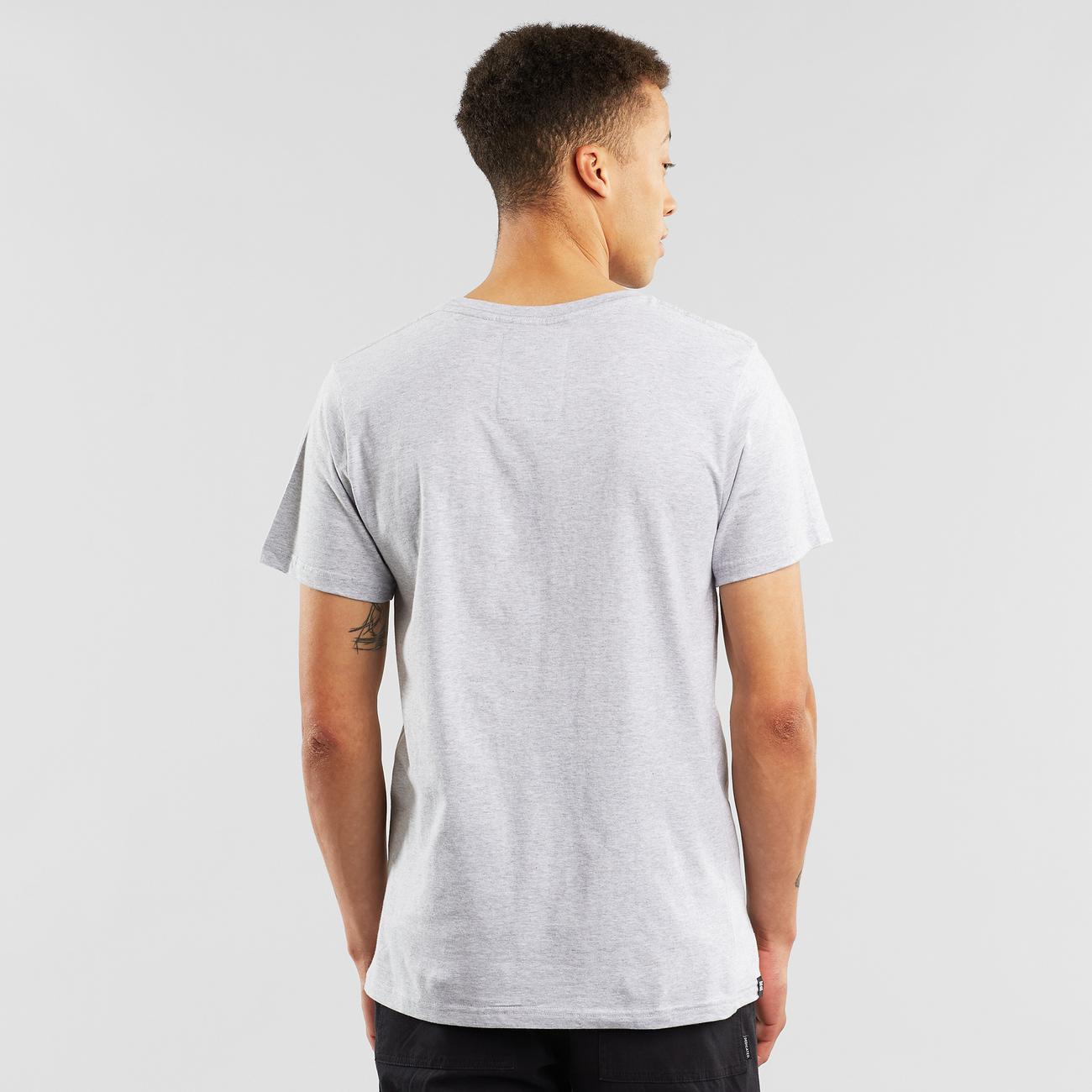 T-shirt Stockholm Base Grey Melange