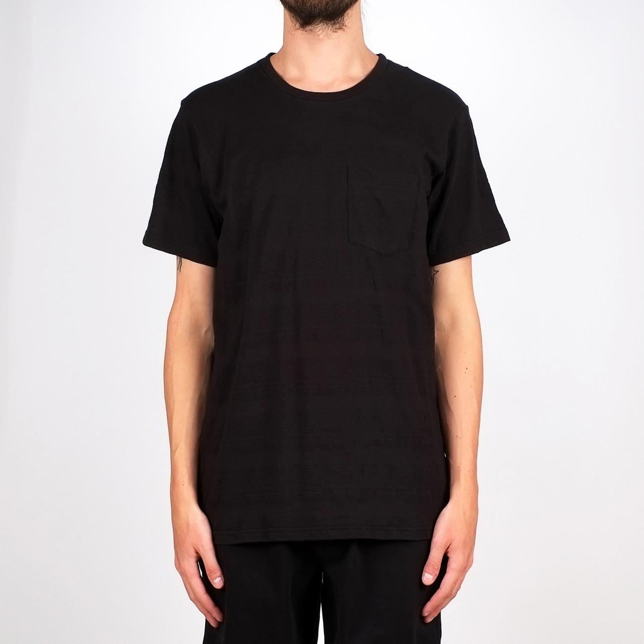 T-shirt Stockholm Full Jacquard Black