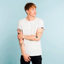 T-shirt Stockholm Stripe Dots Off-White