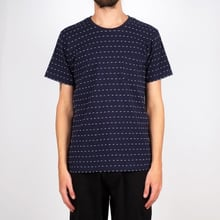T-shirt Stockholm Stripe Dots Navy