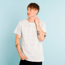 T-shirt Stockholm Jacquard Stripes Off-White