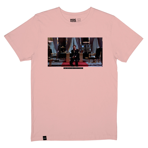 T-shirt Stockholm Little Friend Mellow Pink