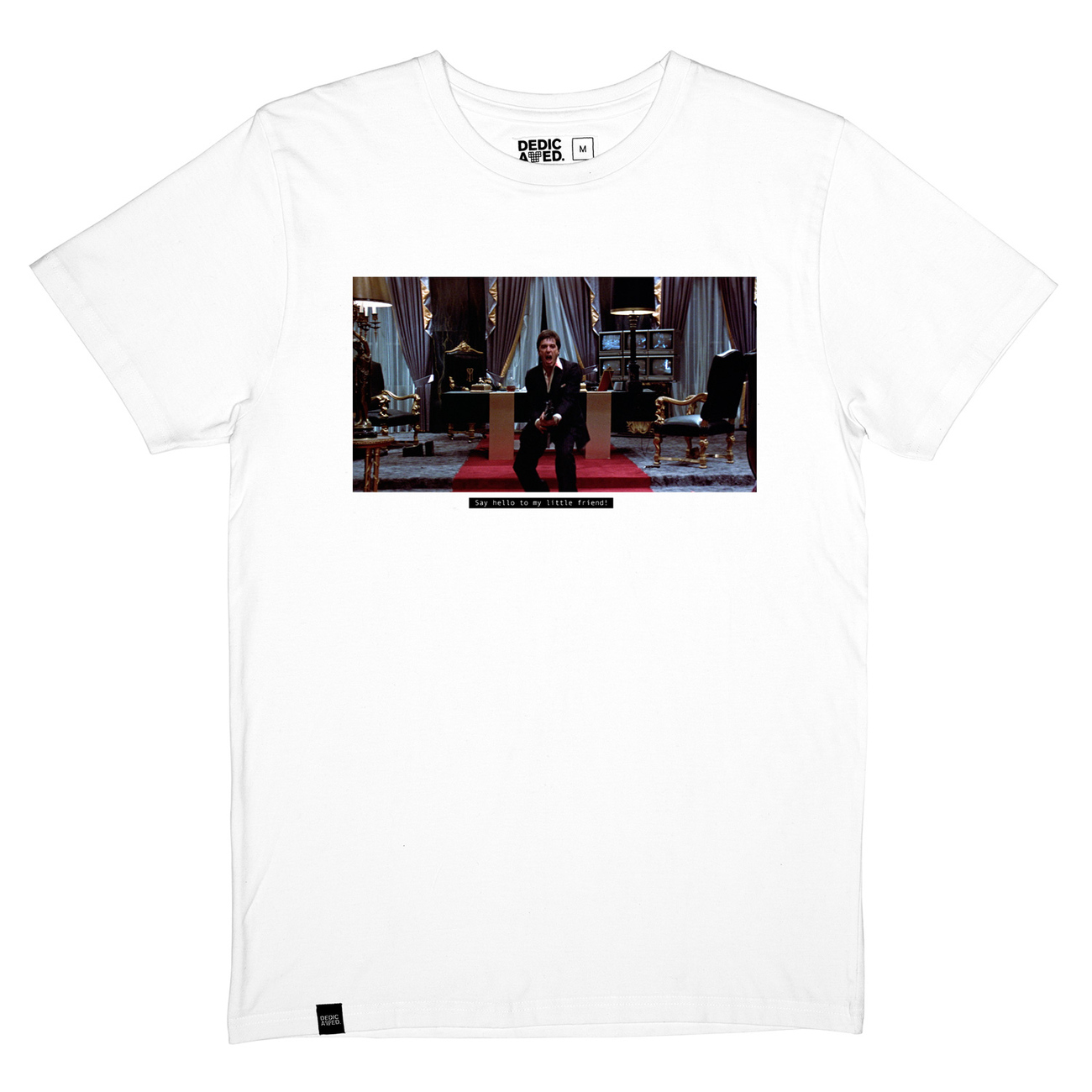 T-shirt Stockholm Little Friend White