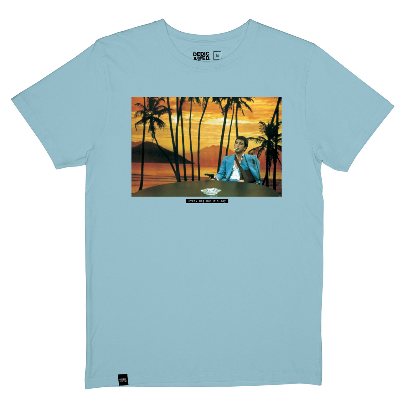 T-shirt Stockholm Every Dog Beach Blue
