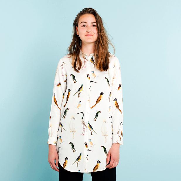 Shirt Fredericia Drawn Birds