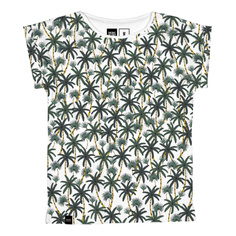T-shirt Visby Beach Palms White
