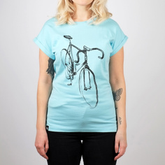 T-shirt Visby Drawn Bike