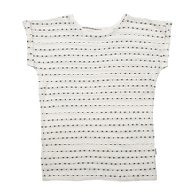 T-shirt Visby Stripe Dots Off-White