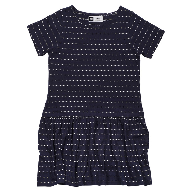 Dress Sandvig Stripe Dots Navy