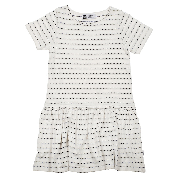Dress Sandvig Stripe Dots Off-White