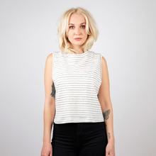 Top Namsos Jacquard Stripes Off-White