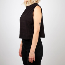 Top Namsos Full Jacquard Black