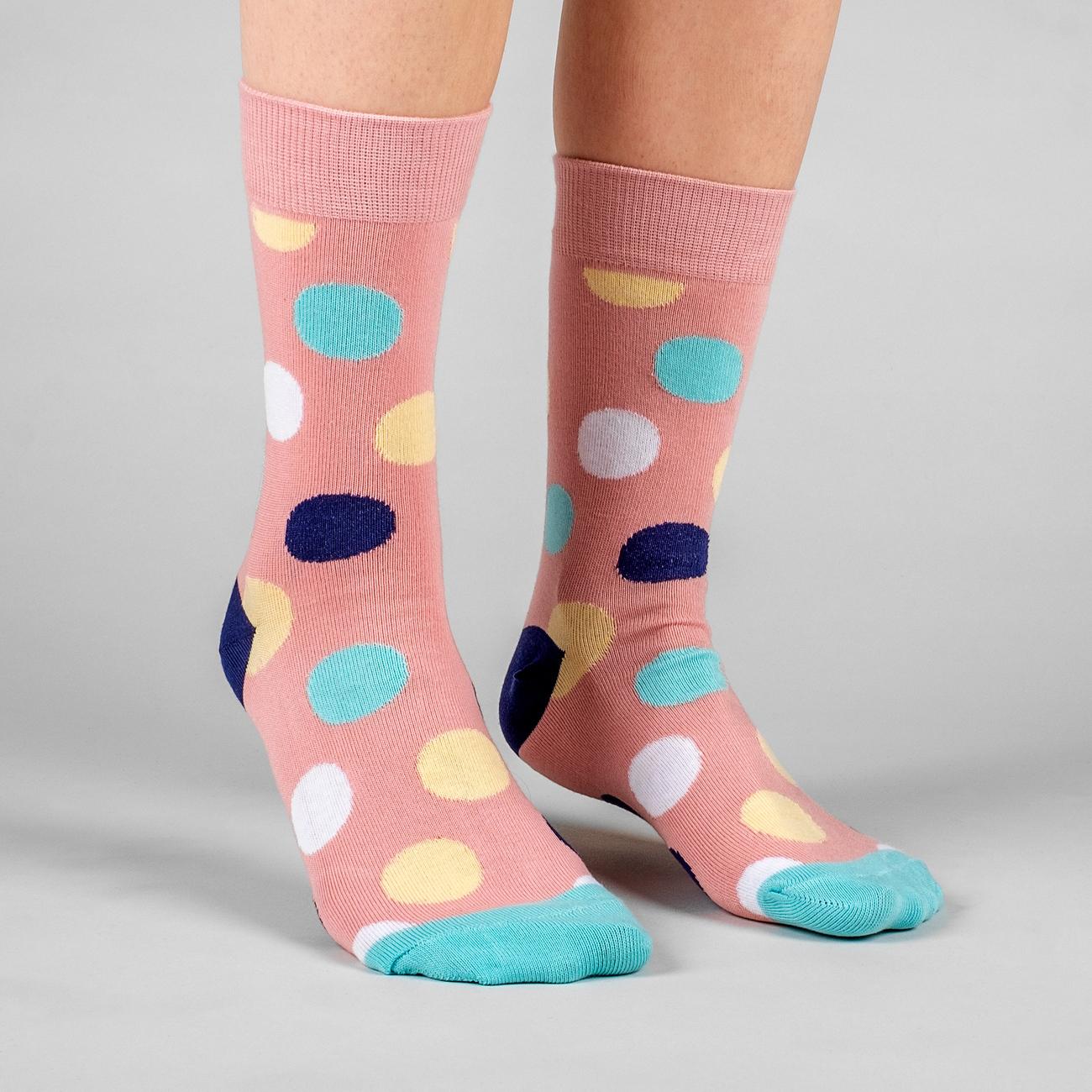 Socks Multi Dots