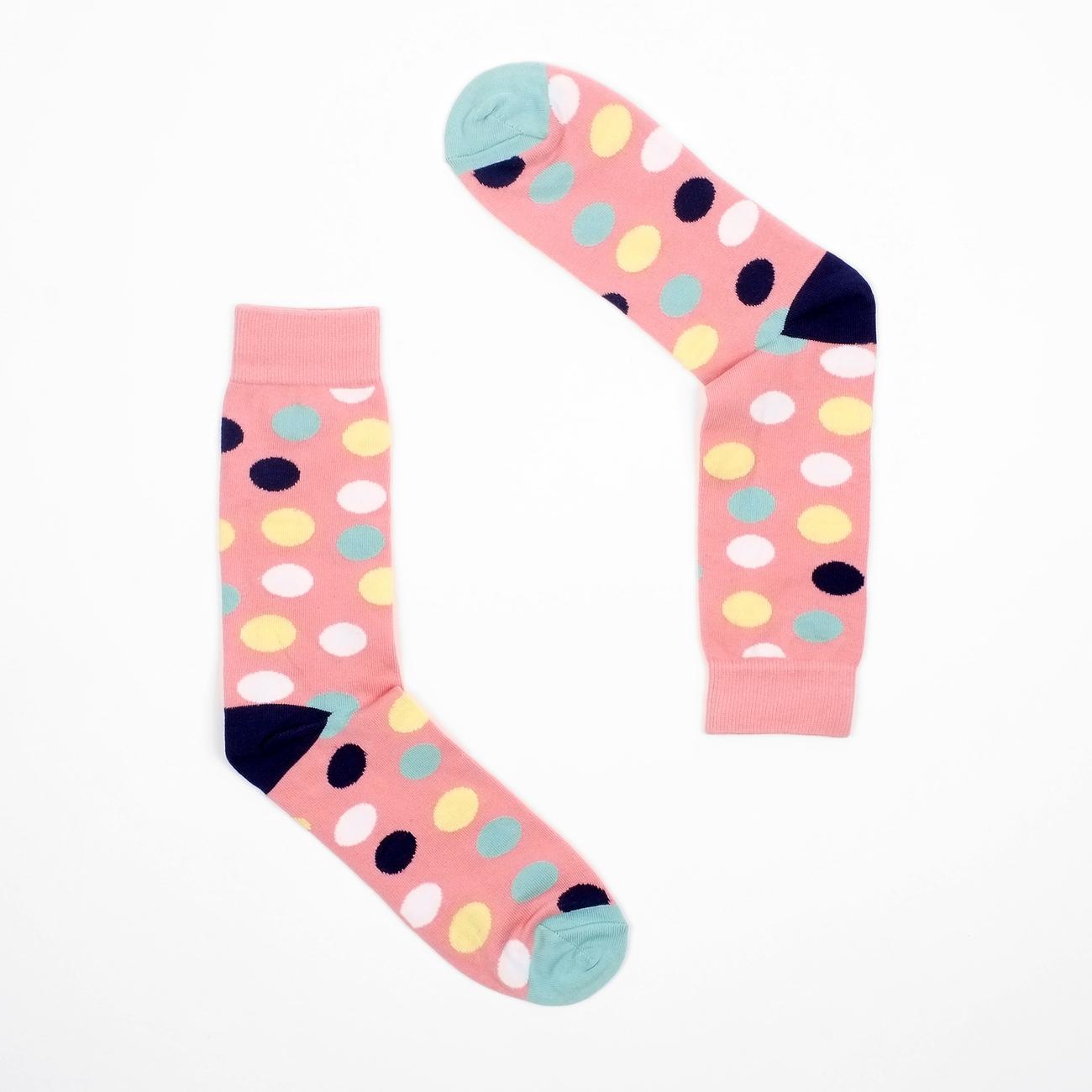Socks Sigtuna Multi Dots Pink