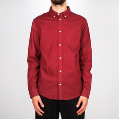 Shirt Varberg Oxford Burgundy