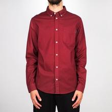Shirt Varberg Oxford Burgundy