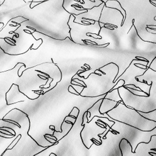 Sweatshirt Malmoe Faces White