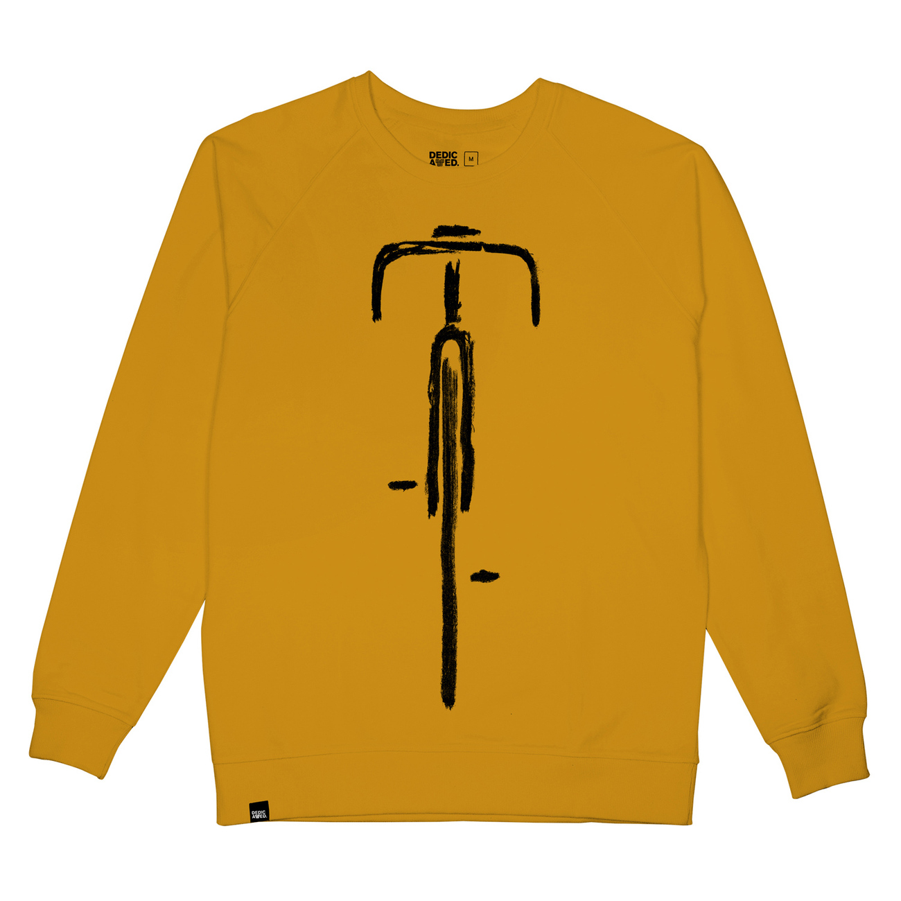 Sweatshirt Malmoe Bike Front Mustard