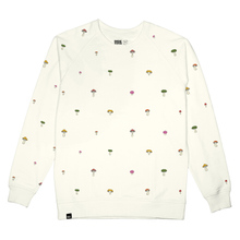 Sweatshirt Malmoe Mushrooms Embroidery