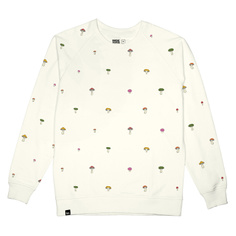 Sweatshirt Malmoe Mushrooms Embroidery