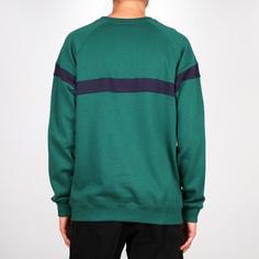 Sweatshirt Malmoe Stripe Evergreen