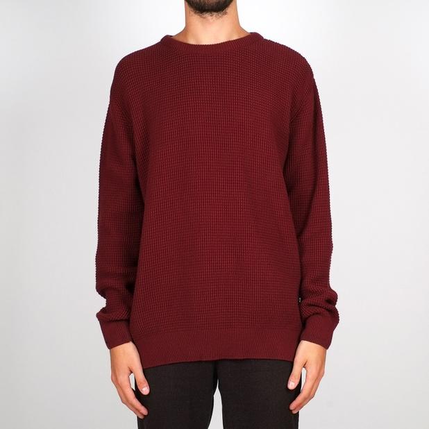 Sweater Mora Waffle Burgundy