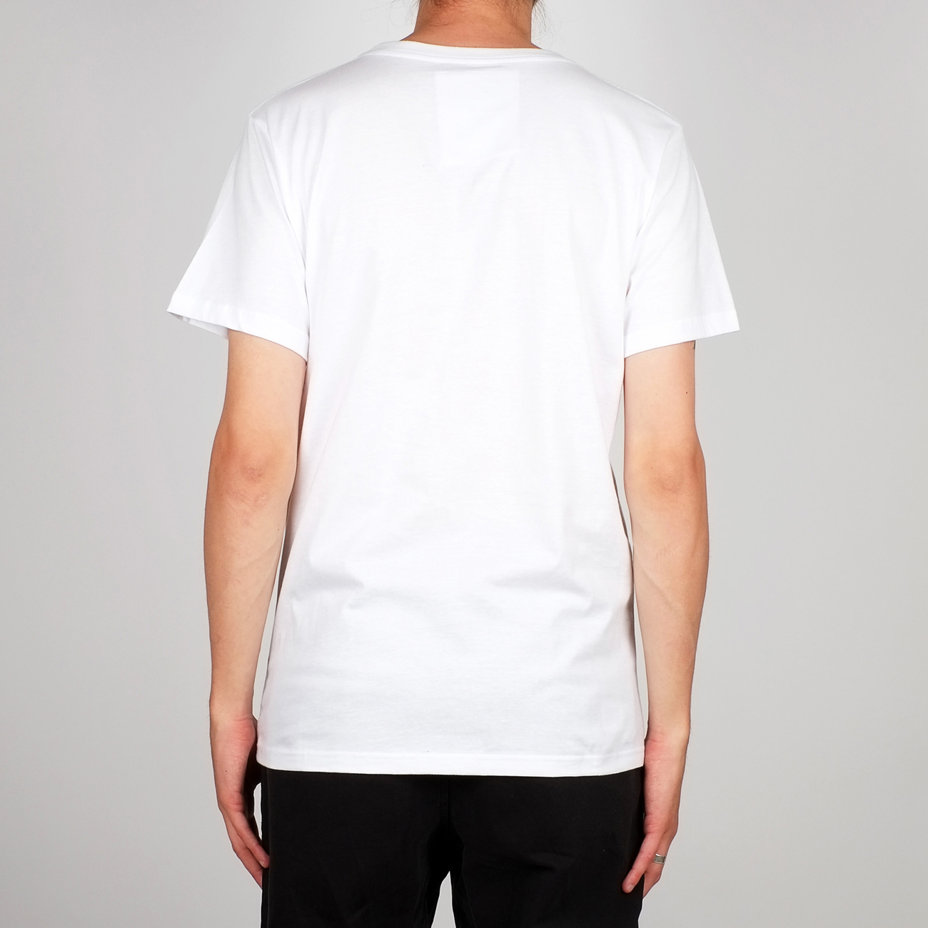 T-shirt Stockholm Bike Box White