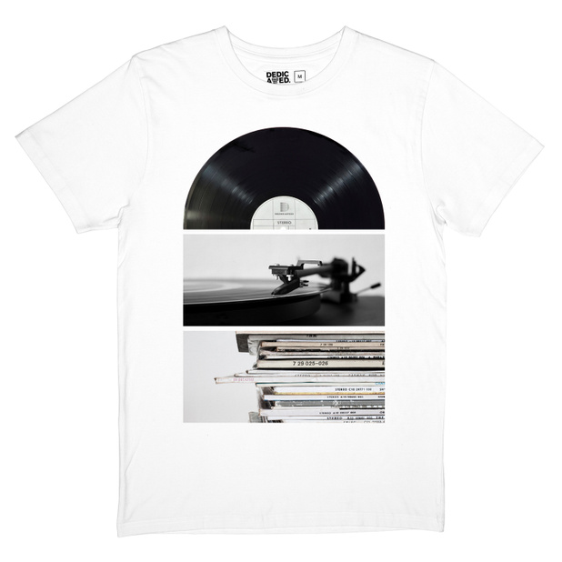 T-shirt Stockholm Playing Record