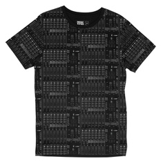 T-shirt Stockholm Mix Table Black