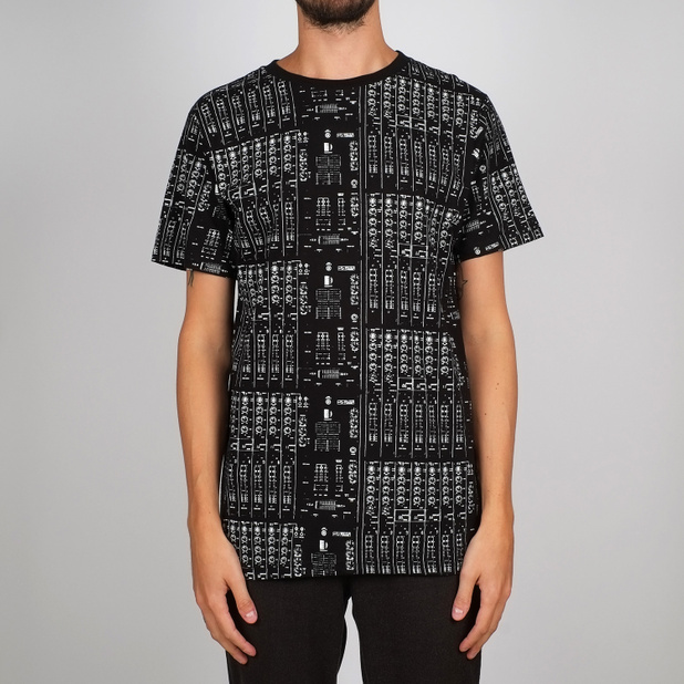 T-shirt Stockholm Mix Table Black