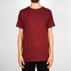 T-shirt Stockholm Dots Burgundy