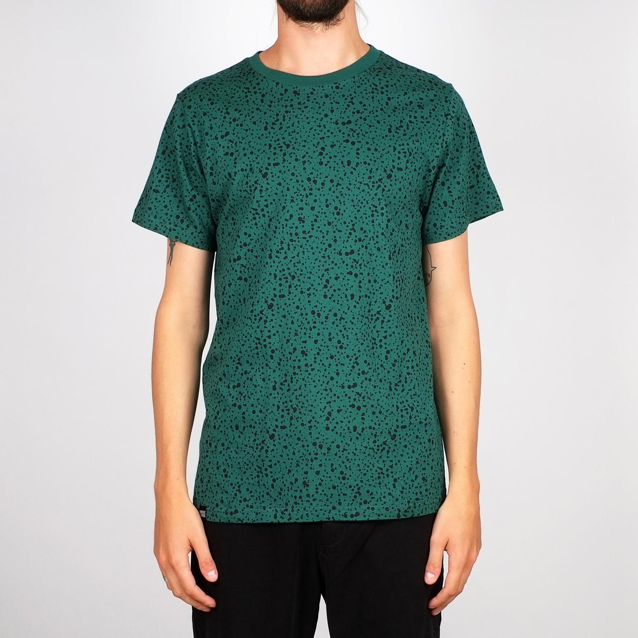 T-shirt Stockholm Dots Evergreen