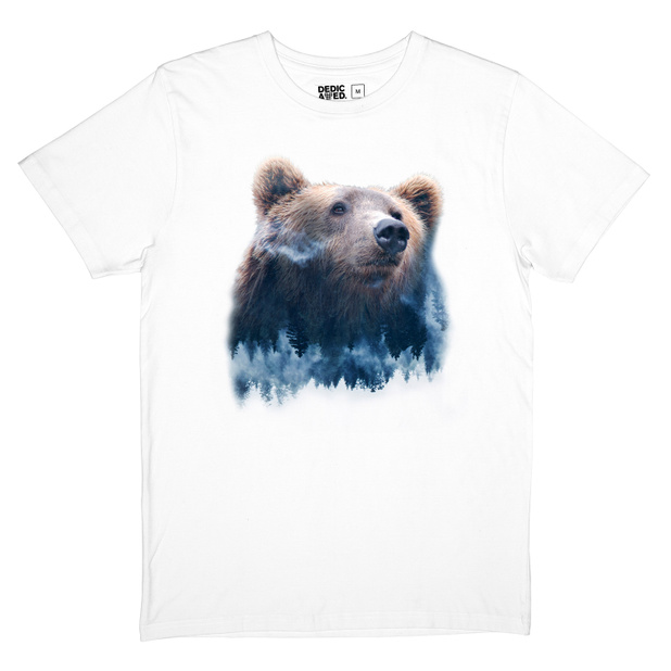 T-shirt Stockholm Forest Bear